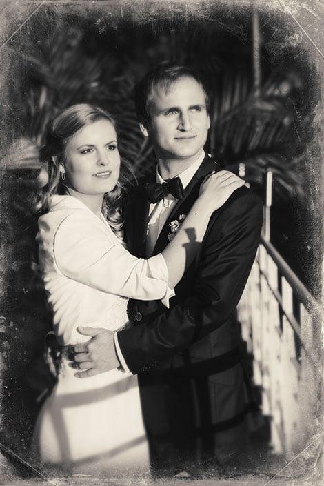 Hochzeitsfoto im Park vom Hochzeitsfotograf